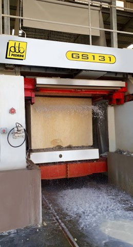 Egypt: ALEX MARMO has installed a new Pedrini 80 blades gang saw for
