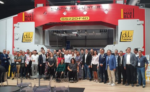 Pedrini technologies main player at Marmomac 2019