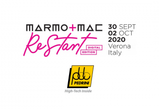 Pedrini al MARMOMAC RESTART DIGITAL Edition 2020